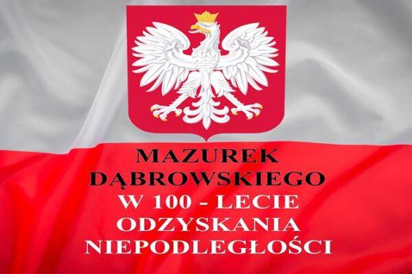 Mazurek Dąbrowskiego w SP Nr 24