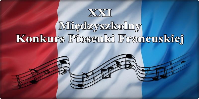 Sukces uczennicy 4B w XXI Międzyszkolnym Konkursie Piosenki Francuskiej