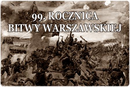 99. Rocznica Bitwy Warszawskiej